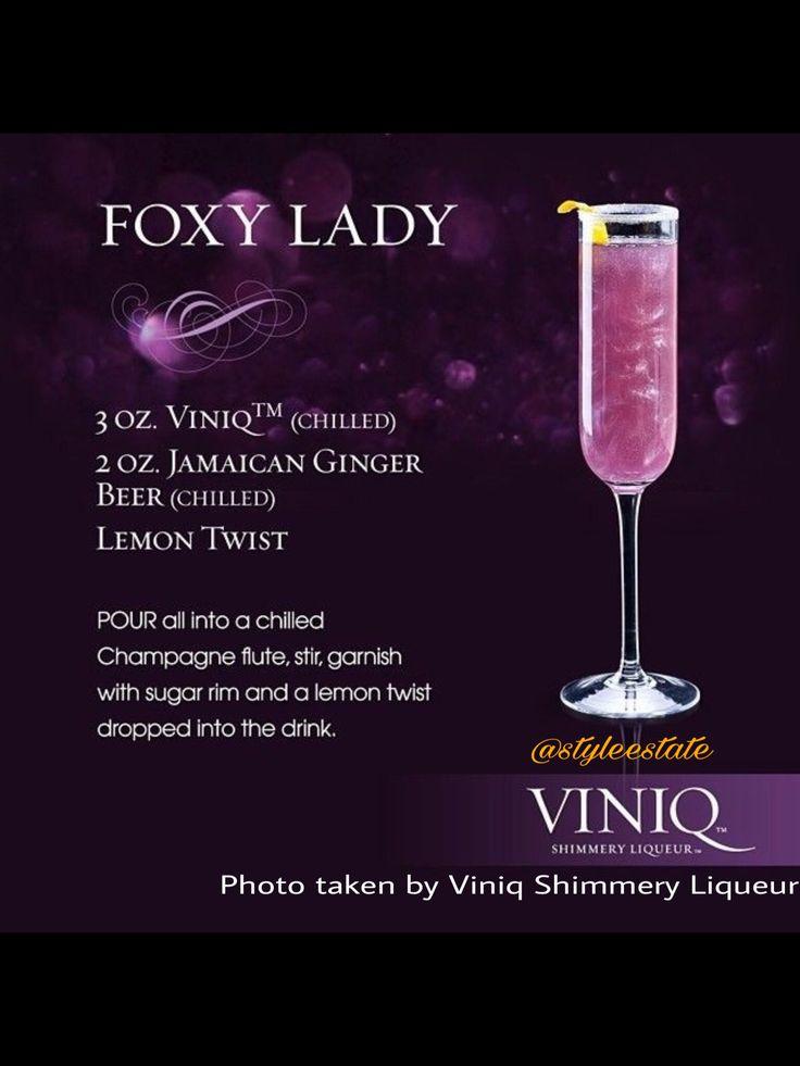 Foxy Lady Cocktail