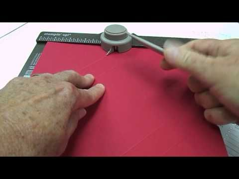 Envelope Punch Board Box How to Video Make a box using the punch board to house up to 10 greeting cards.  Great for gift giving