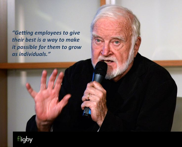 "Prof. Csikszentmihalyi: ""Getting employees to give their best is a way to make it possible for them to grow as individuals."""