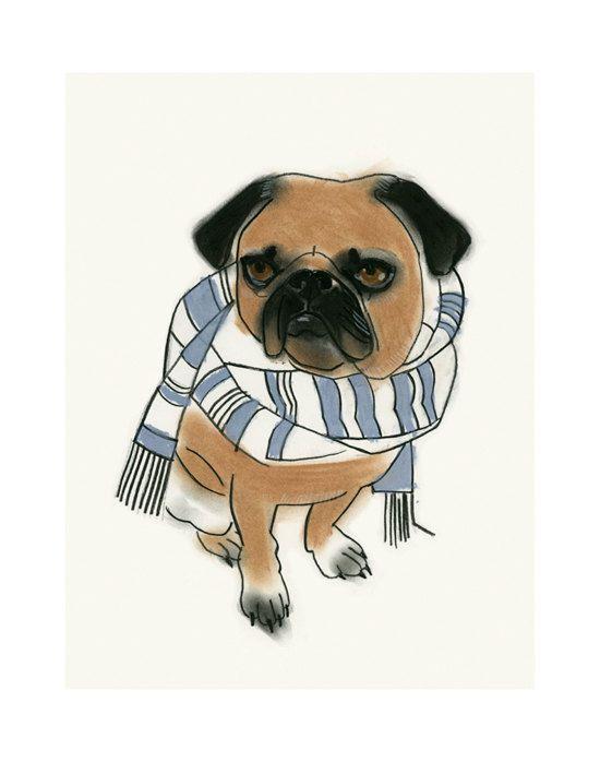 Hey, I found this really awesome Etsy listing at https://www.etsy.com/listing/216230292/pug-art-pug-dog-art-print-dog-artwork