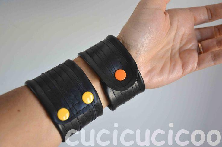 polsini da camere d'aria inner-tube cuffs