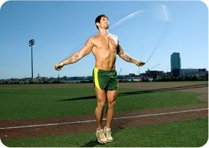 15 Minute Jump Rope Workout - http://weightlossandtraining.com/jump-rope-workout #jumprope #workout