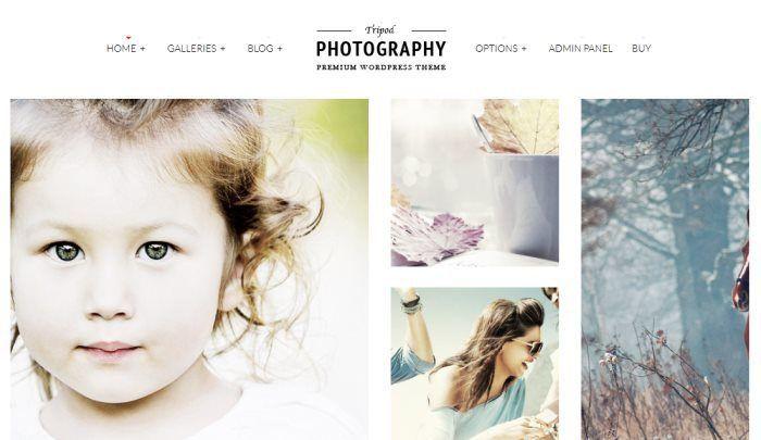Tripod – Professional WordPress Photography Theme