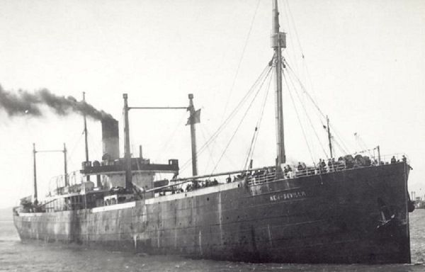 New Sevilla (British Whale factory ship) - Between 21.20 and 21.26 hours on 20 Sep 1940, U-138 fired torpedoes at convoy OB-216 52 miles northwest of Rathlin Island and reported three ships totalling 20,000 grt sunk. The three ships sunk were New Sevilla, Boka and City of Simla.  The New Sevilla (Master Richard Black Chisholm) was taken in tow, but sank the next day 9 miles from the Mull of Kintyre in 55°48N/07°22W. Two crew members were lost.