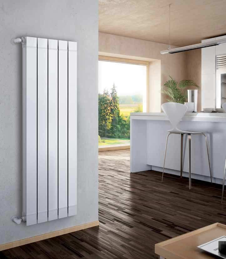 Hot water radiator / wall-mounted / vertical / aluminium GARDA S/90 Fondital