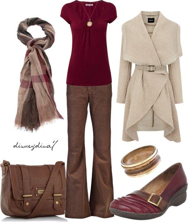 """Burgundy"" by disneydiva7 on Polyvore"