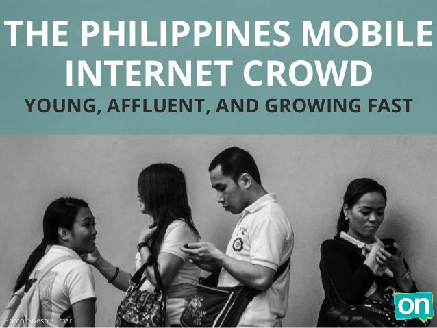 Philippines mobile internet trends by On Device Research via slideshare