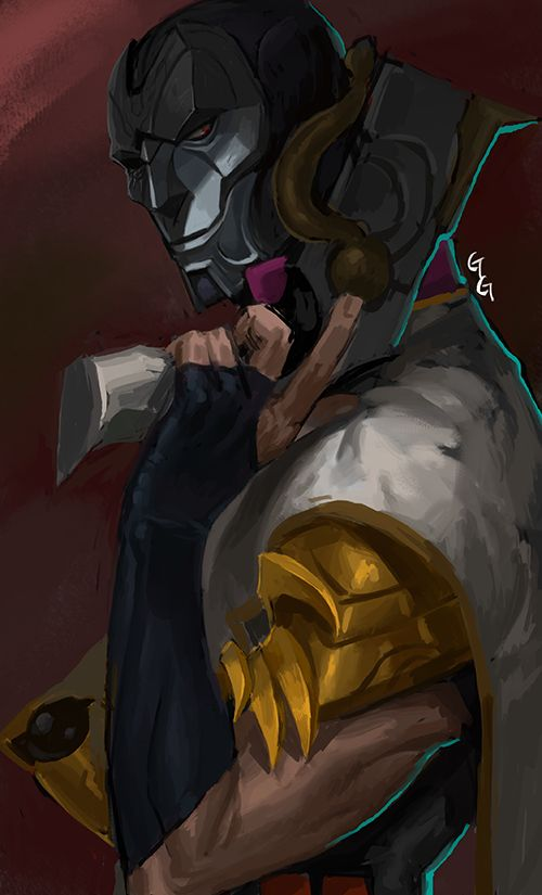 """tyrzor: """" 「Jhin by 발뚱땡이」 """""""