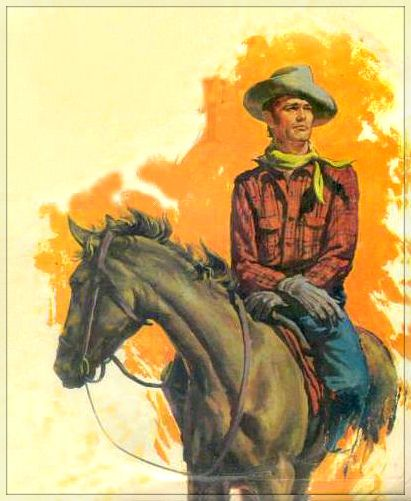 Western Book Cover Art ~ Images about cowboy illustrations on pinterest