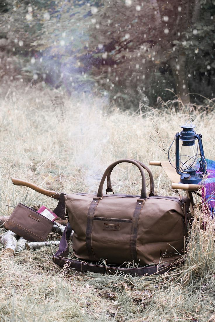 Our leather and canvas duffle bag will make an amazing gift for men this Christmas. It's an ideal travel bag as it's durable and practical, but gets nice and compact when not in use. Shop more leather travel bags on our webiste. #giftsformen #leatherbags #mensbags