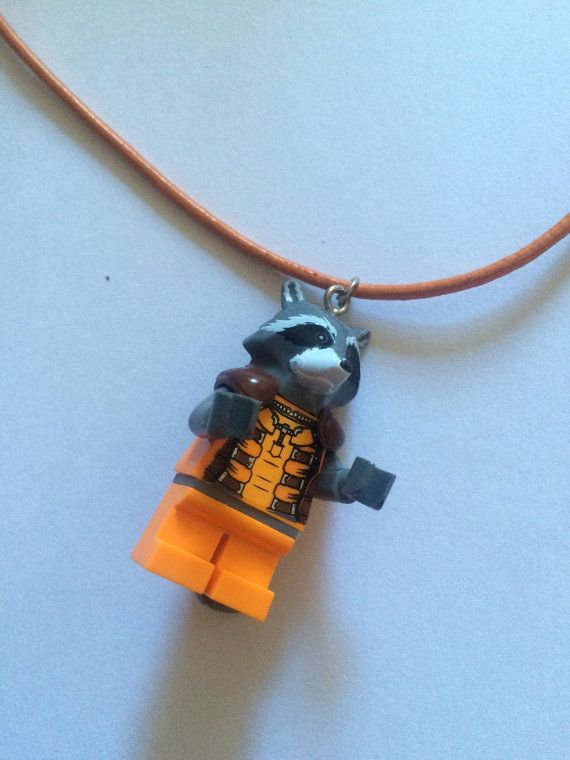 Rocket Raccoon Guardians of the Galaxy Necklace by ToyNecklaces