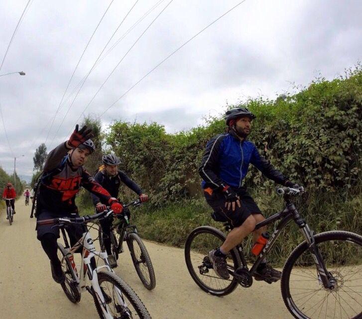 Ruta MTB La Valbanera (Chia) Colombia