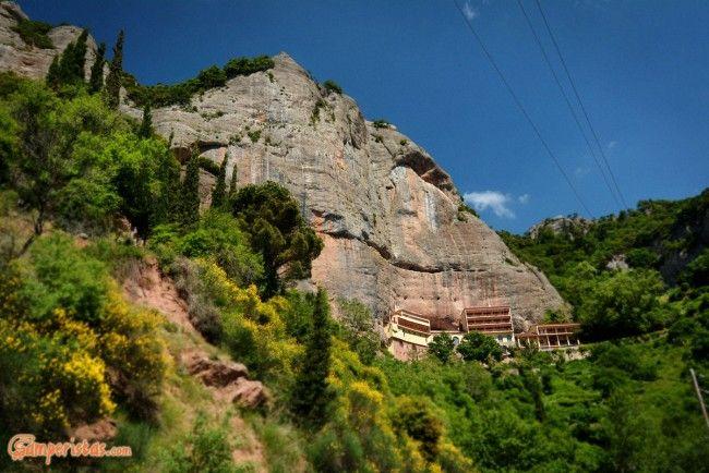 Greece, Peloponnese, Mega Spileo