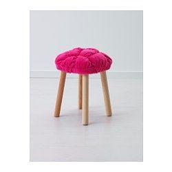 IKEA - STICKAT, Overtrek voor kruk, , De hoes van de kruk is lekker zacht om op te zitten, en voegt wat kleur toe.De overtrek is machinewasbaar en is…