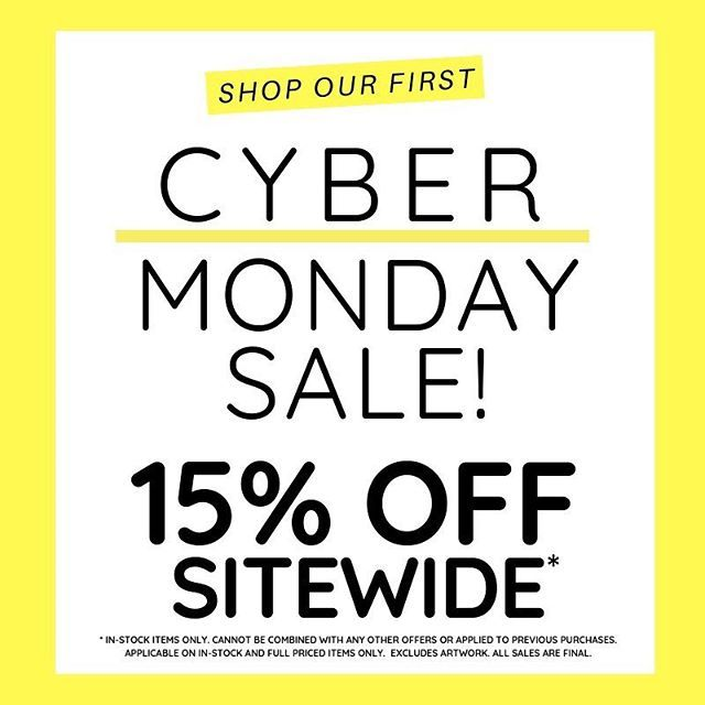 Our First Ever Cyber Monday Sale Starts Tomorrow Its The Perfect Time To Shop For Your Holiday Table Holid Cyber Monday Sales Best Cyber Monday Cyber Monday