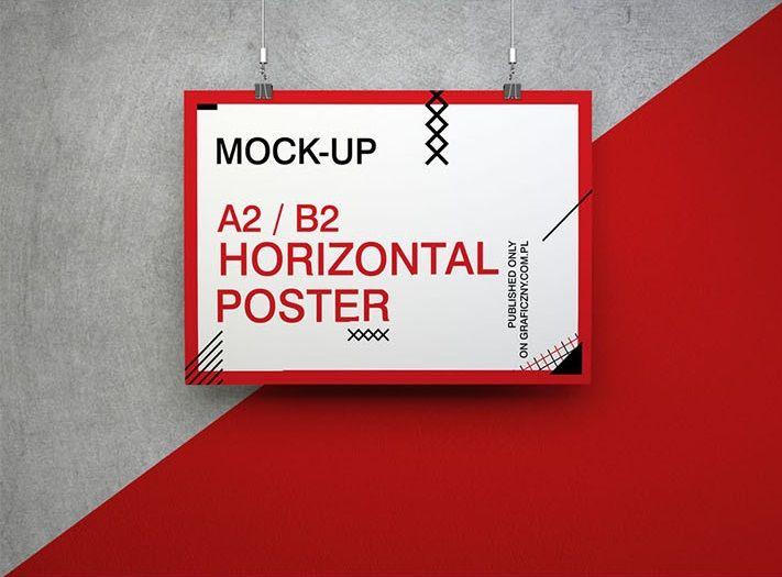 Free Poster Set Mockup Poster Mockup Free Poster Free Mockup