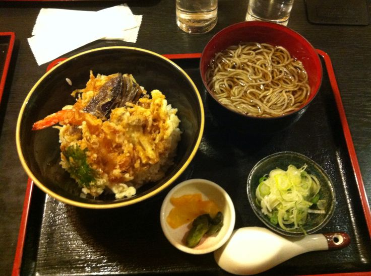 Warm Udon Soup with Tempura