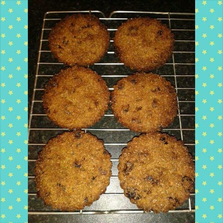 Scan bran ginger cookies