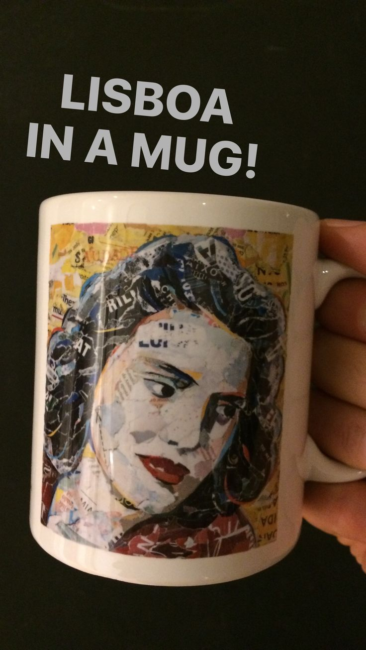 // NEW MUG COLLECTION // AMÁLIA RODRIGUES // limited edition from the original artwork by ©philippe patricio // all rights reserved //