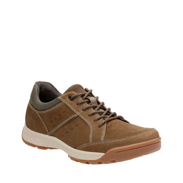 Wavescree Hype Olive Nubuck mens-walking-shoes