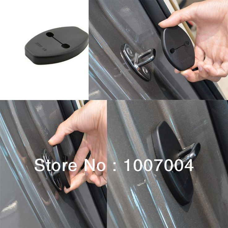 Для VW Magotan Бора Golf ЦК Scirocco Beetle Polo Touran Passat Нового Lavida Tiguan Замка Двери Автомобиля Защитная Крышка замок крышка