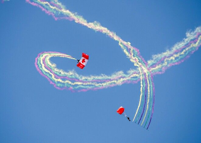 Canadian armed forces parachute team