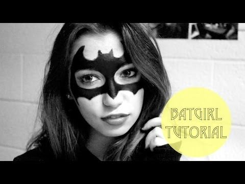 Batman/Batgirl Halloween Makeup Tutorial