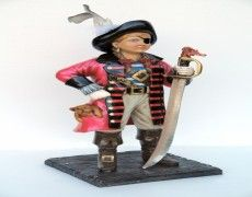 Pirate Girl Statue