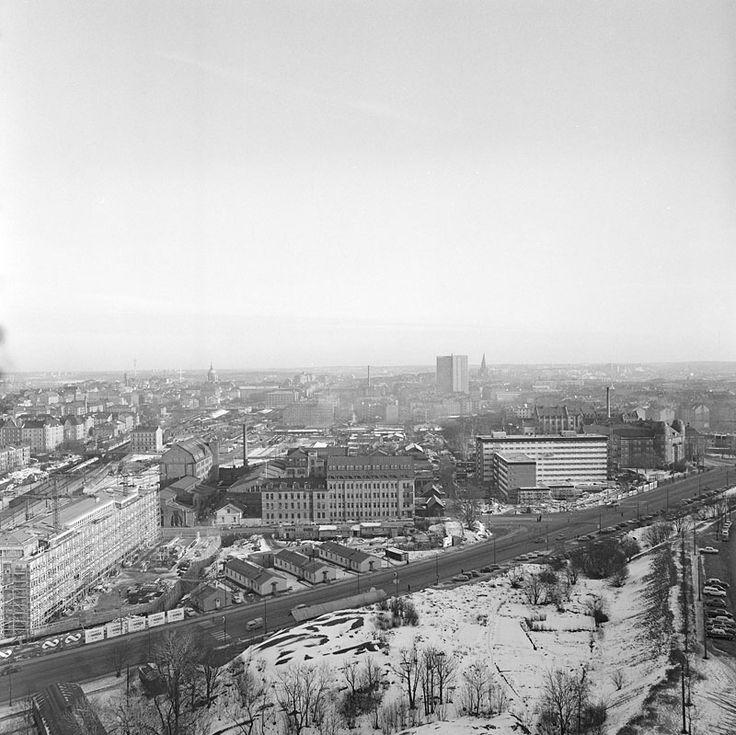 Utsikt från Södersjukhuset