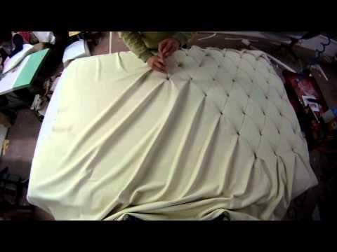 Как делается изголовье кровати. Можно сделать и самому! - YouTube