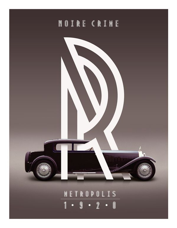 Metropolis 1920 / Typographie / Auteur : Josip Kelava