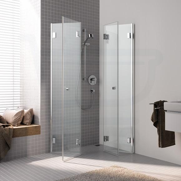 vloertegeltjes lopen door in douchewand