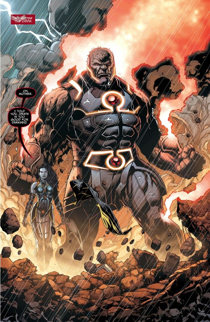 Darkseid and Grail New 52  The Darkseid War