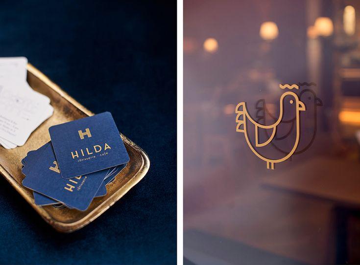 branding for a charming rotisserie bar in Budapest, Hungary
