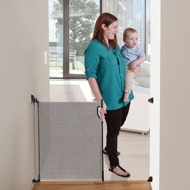 Dreambaby Retractable Gate Grey - Baby Gates & Home Safety - Equipment