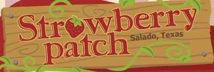 Strawberry Patch, Salado, TX :)