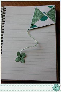 _Ellemme Creations: Un #segnalibro particolare #kite #aquilone