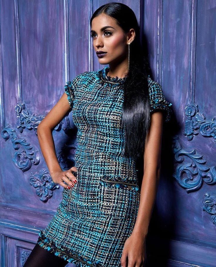Женская мода Твидовое платье купить | Лучшая цена на Женская мода Твидовое платье | MYClothing