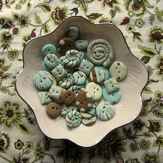 DIY> How to make Polymer Clay Buttons