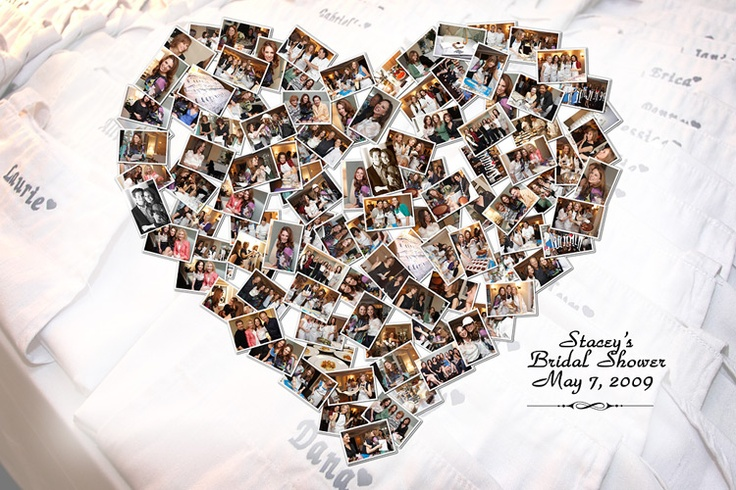 heart picture wall collage: this is making me more excited to re-do my room!!!