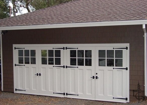 These Are Great Looking Garage Doors However They Swing Open Instead Of Opening With