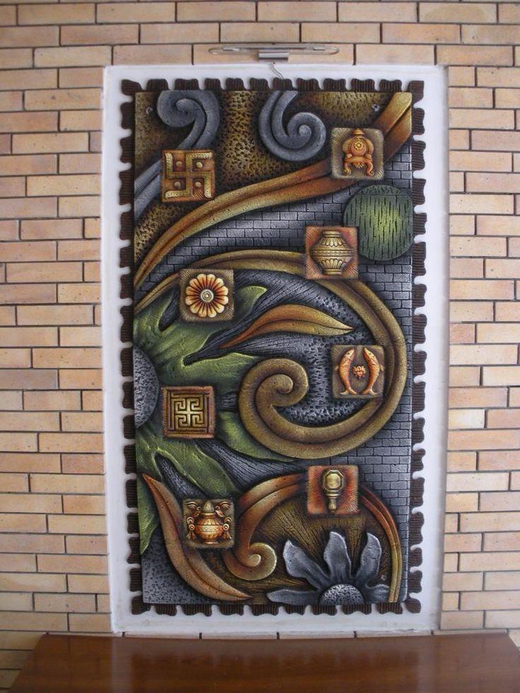 17 best images about inspiring murals on pinterest for 3d ceramic mural art