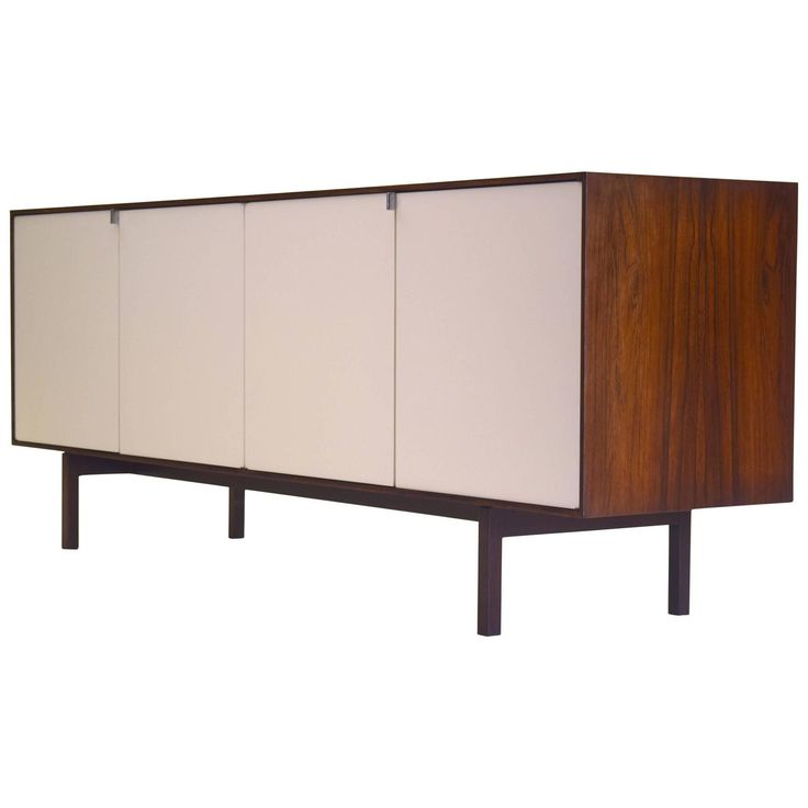 Rosewood Sideboard by Florence Knoll | From a unique collection of antique and modern buffets at https://www.1stdibs.com/furniture/storage-case-pieces/buffets/