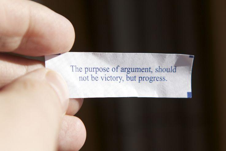 The Purpose of Argument