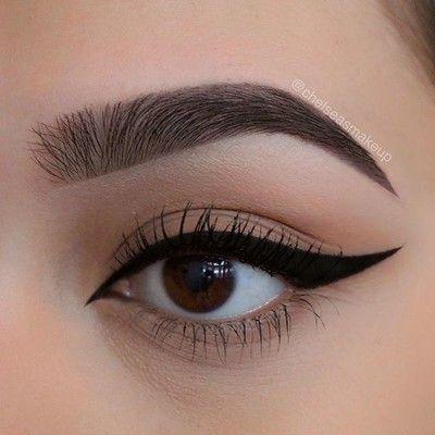 "No falsies today  Brows: @beautybakeriemakeup • Brown BROWnies Liner: @beautybakeriemakeup • ""black milk gelato"" #beautybakerie #makeup #instamakeup #cosmetic #cosmetics #mua #fashion #eyeshadow #lipstick #gloss #mascara #palettes #eyeliner #lip #lips #tar #concealer #foundation #powder #eyes #eyebrows #eyelashes #primers #beauty #beautiful #morphebrushes #anastasiabeverlyhills #abh"