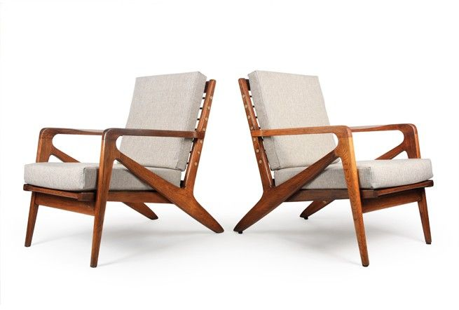 These are some of our favourite mid century chairs made in New Zealand. C9 Armchairs from Airest