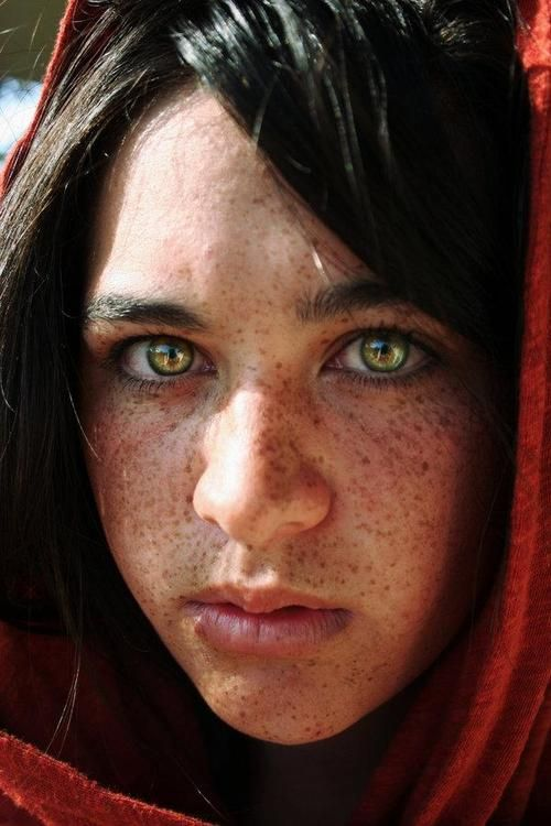 A Beautiful Afghan Girl