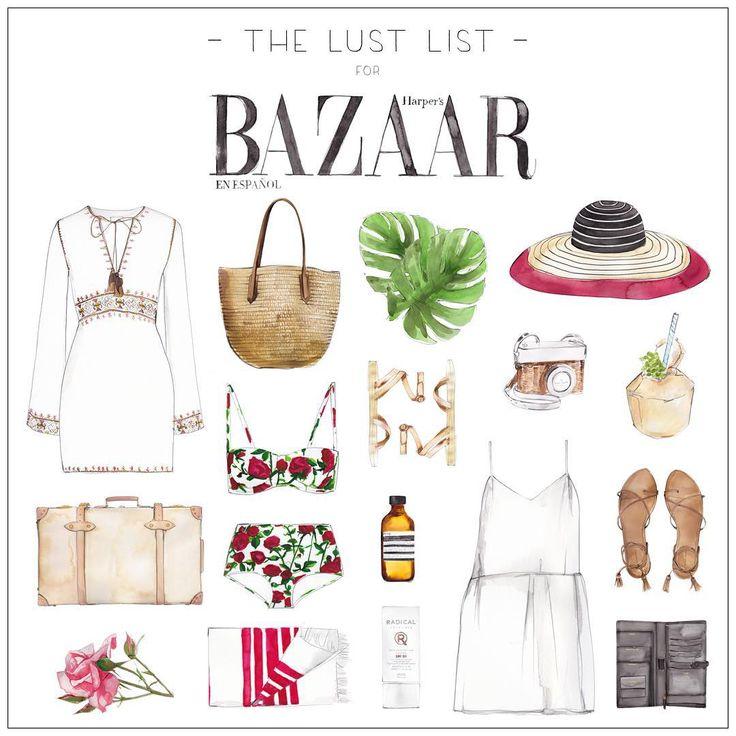 """The Lust List x Harper's Bazaar Mexico & Latin America | The Great Escape #harpersbazaarmx #thelustlist @harpersbazaarmx Tap for details"""