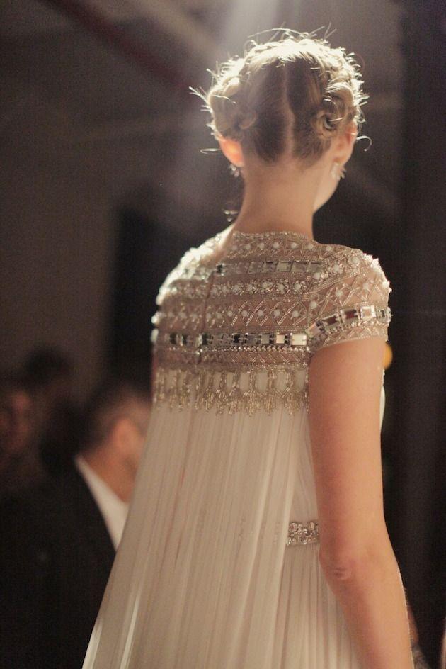 Naeem Khan Wedding Dress | Wedding Dresses With Sleeves | Bridal Musings Wedding Blog 3