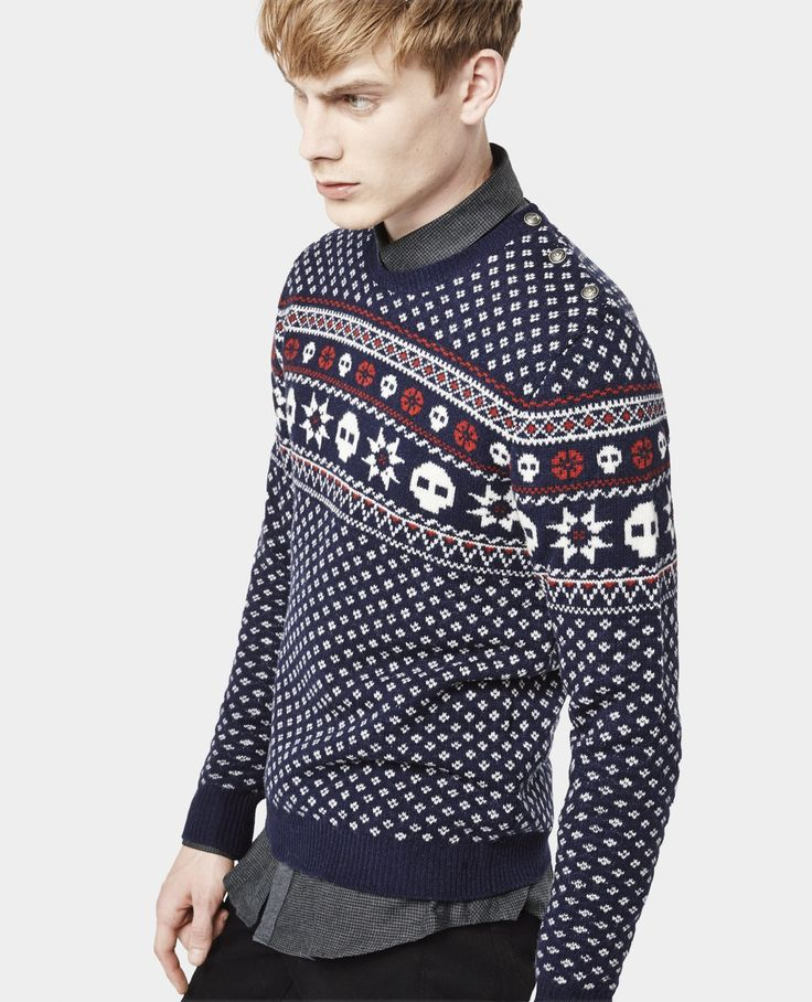 Pull à motifs jacquard - Maille - Homme - The Kooples